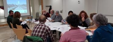 Reunió de la comissió de la CONFAVC que duu a terme el projecte