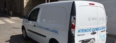 El vehicle elèctric de la Fundació Sant Hospital de la Seu d'Urgell (imatge: fsh.cat)