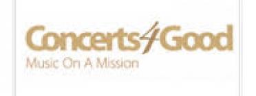Logotip de Concerts4Good, Music on a Mission