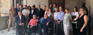 El Consell de la Discapacitat de Catalunya va reunir-se aquest mes de setembre.