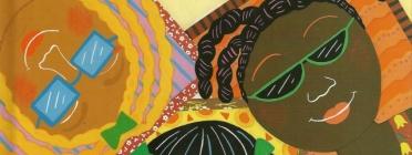 Il·lustració del conte 'Els colors de la meva pell' de Karen Katz. Font: Etiopiaadopcion