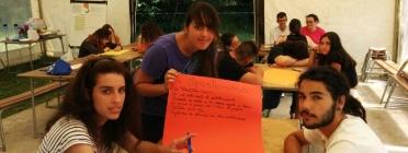 Camp de treball de l'edició 2014 de Jo_Ven! DiSueña y Construye tu Comunidad