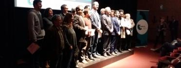 Foto de grup amb totes les cooperatives premiades