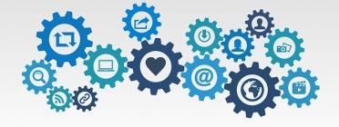 Engranatges de la comunicació 2.0. Font: ar130405 a Pixabay
