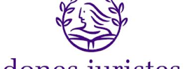 Logotip de Dones Juristes. Font: Dones Juristes