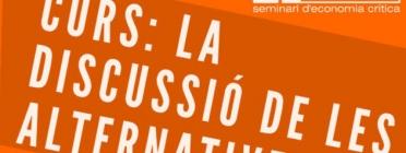 Curs La discussió de les alternatives. Font: Seminari Taifa