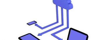 Diferents dispositius connectats al núvol