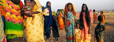 Dones de Darfur (Font: Juliana Rico Aguedo)