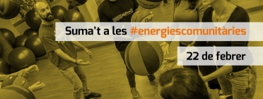 Suma't a les #energiescomunitàries. Font: Twitter de les Energies Comunitàries