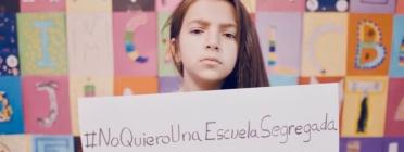 Imatge de la nena protagonista del vídeo de la campanya.