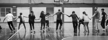 El projecte 'Community' busca promoure la inclusió social de les persones refugiades en les seves comunitats d'acollida. Font: Fundació Solidaritat UB