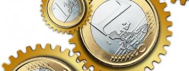 Imatge monedes d'euro. Font: pixabay