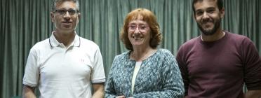 Jordi Albaladejo, Amàlia Bosch i Guillem Puig són autors de publicacions històriques d'ateneus.