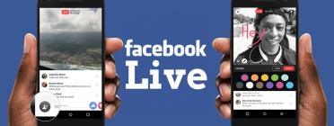 Feu una bona realització dels vostres esdeveniments per Facebook Live!