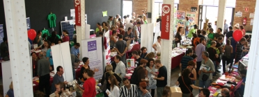 Fira d'economia social i solidària. Font: http://pamapam.org/