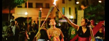 La flama del Correllengua / Foto: CAL