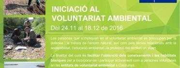 Inscripcions obertes al curs d'Iniciació al Voluntariat Ambiental de la XVAC (imatge: xvac)