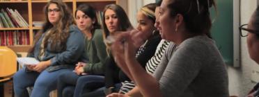 """Fotograma del vídeo sobre el projecte """"Mirades de futur"""""""