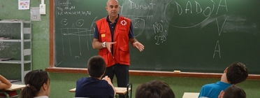 Activitat de voluntariat corporatiu de Prosegur. Font: Voluntare