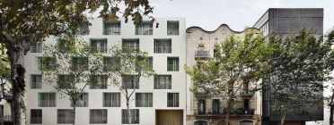 Barcelona comença a construir un bloc de pisos destinat a la gent gran