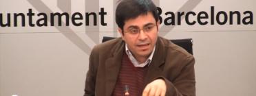 Gerardo Pisarello en la presentació del pla. Font: social.cat