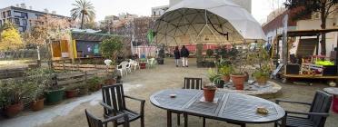 Una vista d'aquest espai comunitari. Font: Recreant Cruïlles