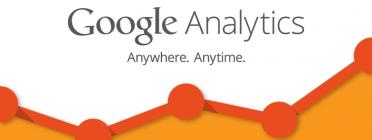 Google Analytics és una eina molt potent d'estadístiques web. Font: