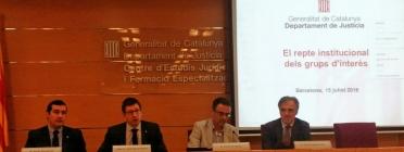 Presentació de la jornada 'El repte institucional dels grups d'interès'. Font: Suport Associatiu