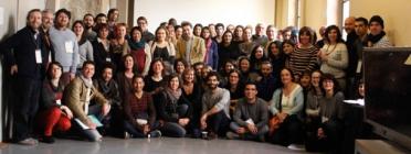 Foto de grup de participants en el projecte