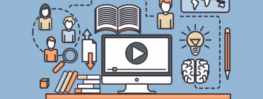 Portada de la guia 'Aprenentatge servei i tecnologies digitals'