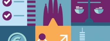 Fulletó informatiu sobre la Guia de contractació pública de l'Ajuntament de Barcelona. Font: Ajuntament de Barcelona