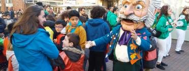 L'Home dels Nassos, el capgròs vist per l'associació cultural barcelonina Arca de Noè (Foto: Barcelona.cat)