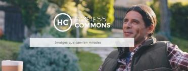 Banner del portal Homeless Commons.