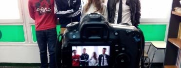 Participants en el projecte EngL'Hoba't!: Tallers de Cinema Cooperatiu