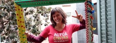 Laia Bernués, delegada territorial d'AFEV Barcelona.