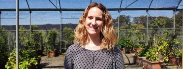 Andrea Lizana, responsable de captació de fons i voluntariat. Font: Fundació Viver de Bell-Lloc