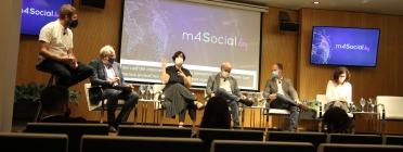 Debat sobre internet com a dret fonamental al m4Social day. Font: Carla Fajardo Martín