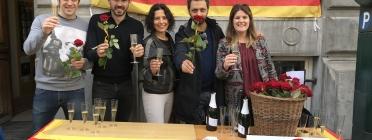 Els Amics de les Arts, amb el Casal Català de Brussel·les Font: Casal Català de Brussel·les