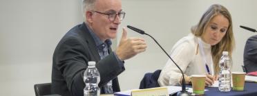 Jesús Delgado, responsable d'internacionalització de la Taula d'entitats del Tercer Sector Social de Catalunya. Font: Taula d'entitats del Tercer Sector Social de Catalunya