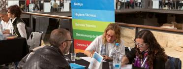 Entitats, empreses i persones candidates van participar a la III Jornada Labora.