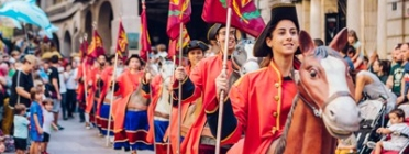 La Passada de lluïment del seguici es durà a terme a la plaça de Sant Joan el matí de Sant Miquel. Font: Festes de la Tardor de Lleida