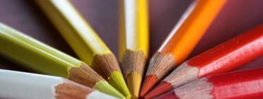 Llapissos de colors càlids