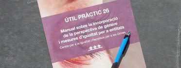 El manual ha estat elaborat pel Centre per la Igualtat i Recursos per a les Dones (CIRD) i publicat per Torre Jussana. Font. Suport Associatiu