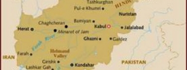 Mapa de Afganistan.