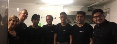 Persones treballadores de 'Marticofee', retaurant i cafeteria formativa i social
