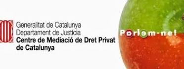 Centre de Mediació de Dret Privat de Catalunya, Font: Departament de Justícia