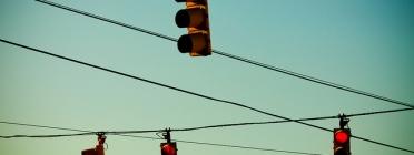 Semàfors en vermell. Autor: Thomas Shawk. Font: Flickr