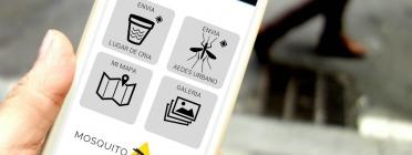 Amb l'app Mosquitoalert es pot contribuir al segument iel control del mosquit tigre i el  mosquit de la febrer groga (imatge: creaf.cat)