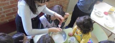 Programa SI! a l'Escola Joan de Palà, La Coromina. Font: Blog del Programa SI!