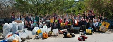 286 Quilos d'escombraries ha estat el resultat de la recollida